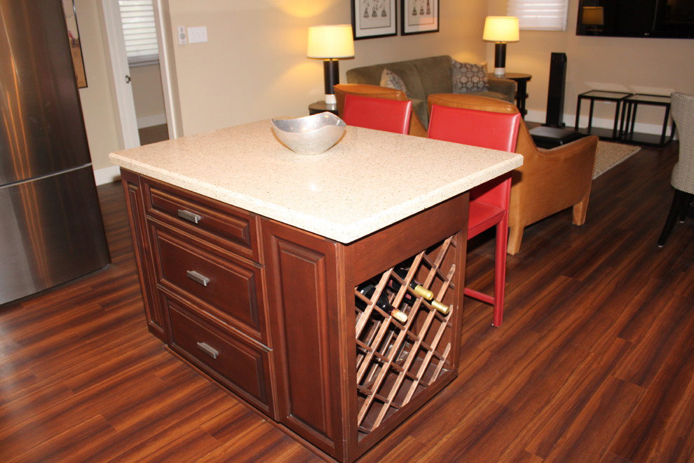 Guest Quarters kitchen island