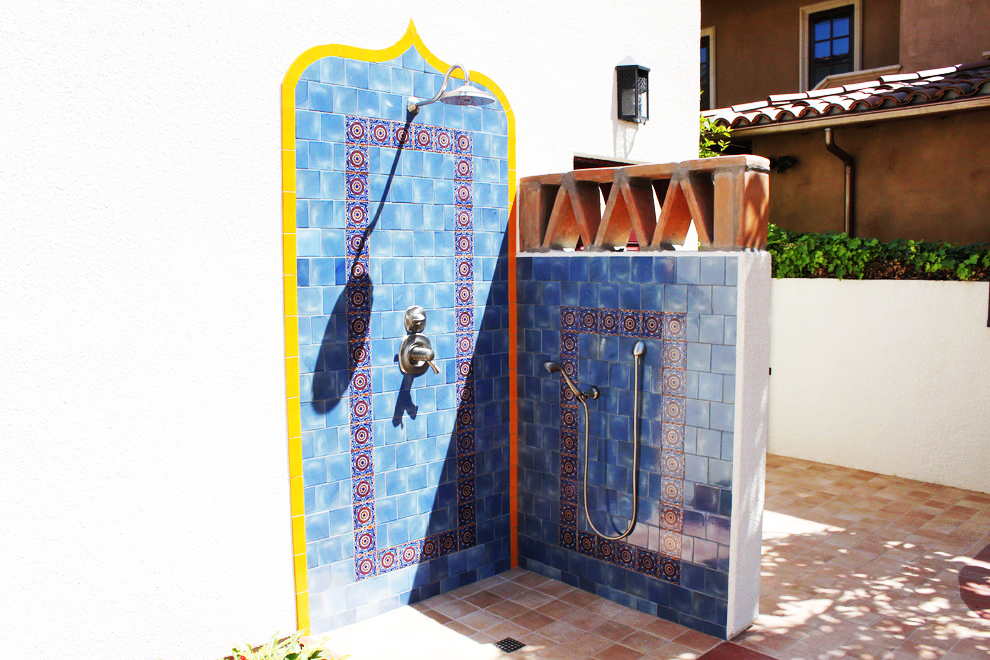 historic outdoor shower